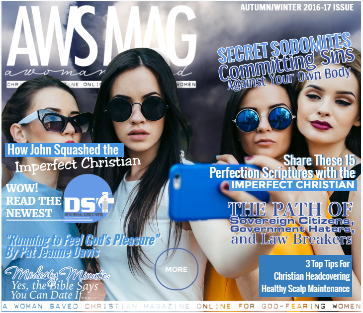 Read the Autumn/Winter 2016-17 Issue on awomansaved.com magazine.