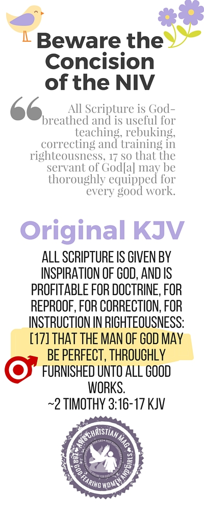 """""""That the man of God may be perfect..."""""""